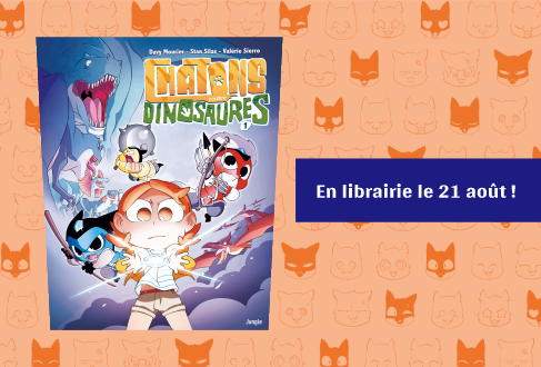 Chatons contre Dinosaures